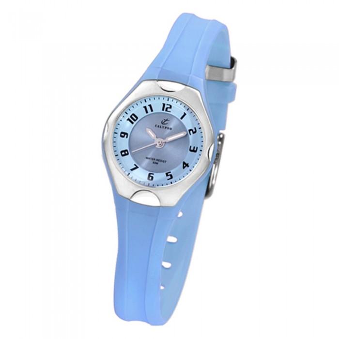 Uhr K51634 Pu Hellblau Kinder Kids Quarzwerk Calypso Armbanduhr Uk51634 uOPkZiTX