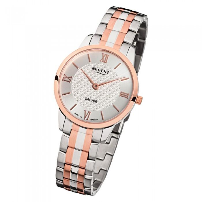 Uhr Armbanduhr 1414 Rosegold Metall Regent Damen Gm Urgm1414 Silber Quarz Analog OXk8PN0nw