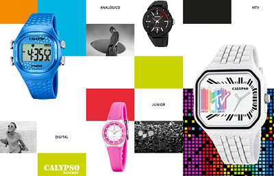 Calypso Uhren bunt und schick
