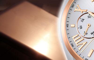 Bild zu Uhren in Rosegold